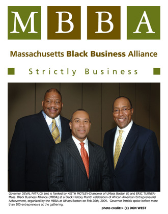 Black History Month Business Summit Featuring Governor Deval Patrick